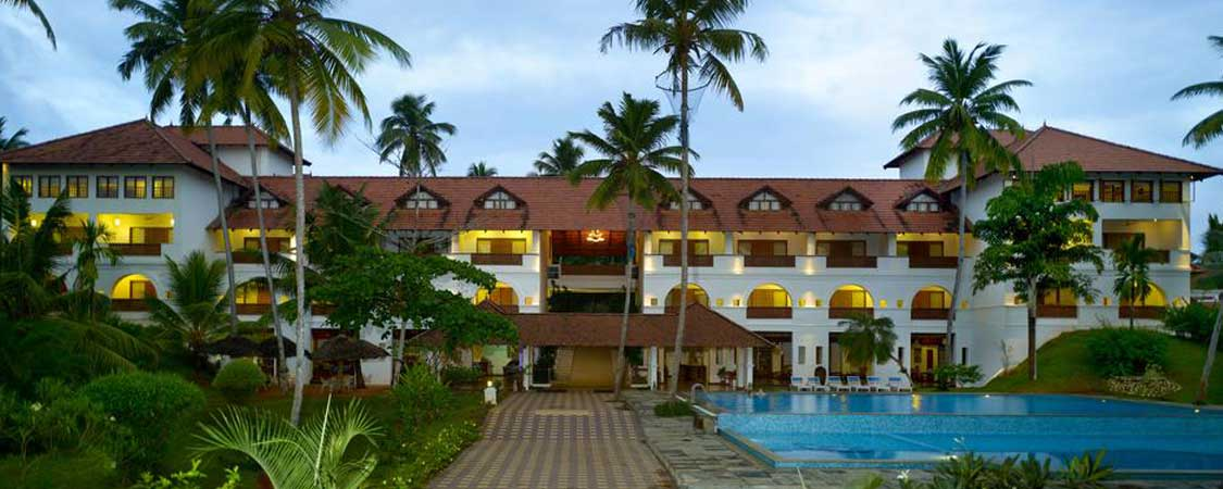 Estuary Island Resort, Kovalam, Kerala, 4 Star Resort in Kovalam, Estuary Island Resort Facilities, Photos & Rate